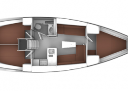 Bavaria 37 Cruiser Layout
